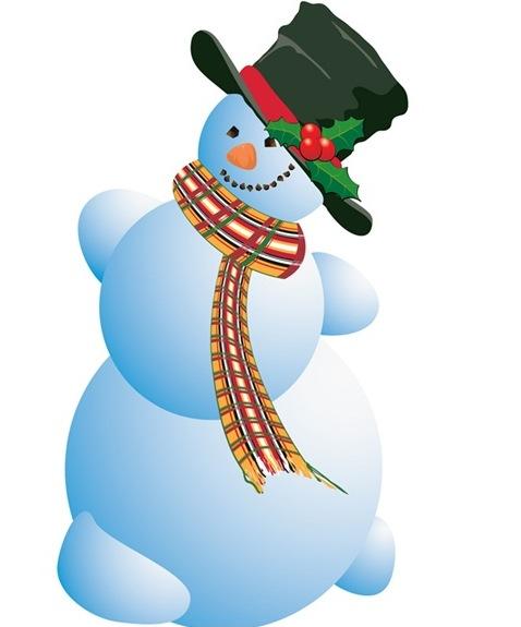 Snowman clipart december Art Dec Download Art Clipart