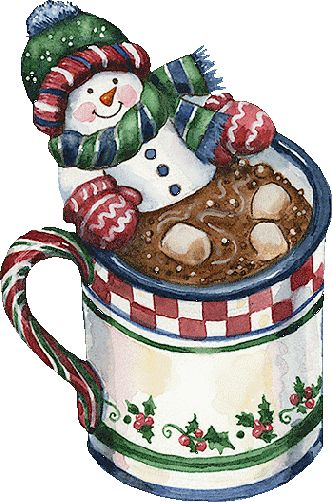 Snowman clipart drinking coffee CLIPART images more best 51