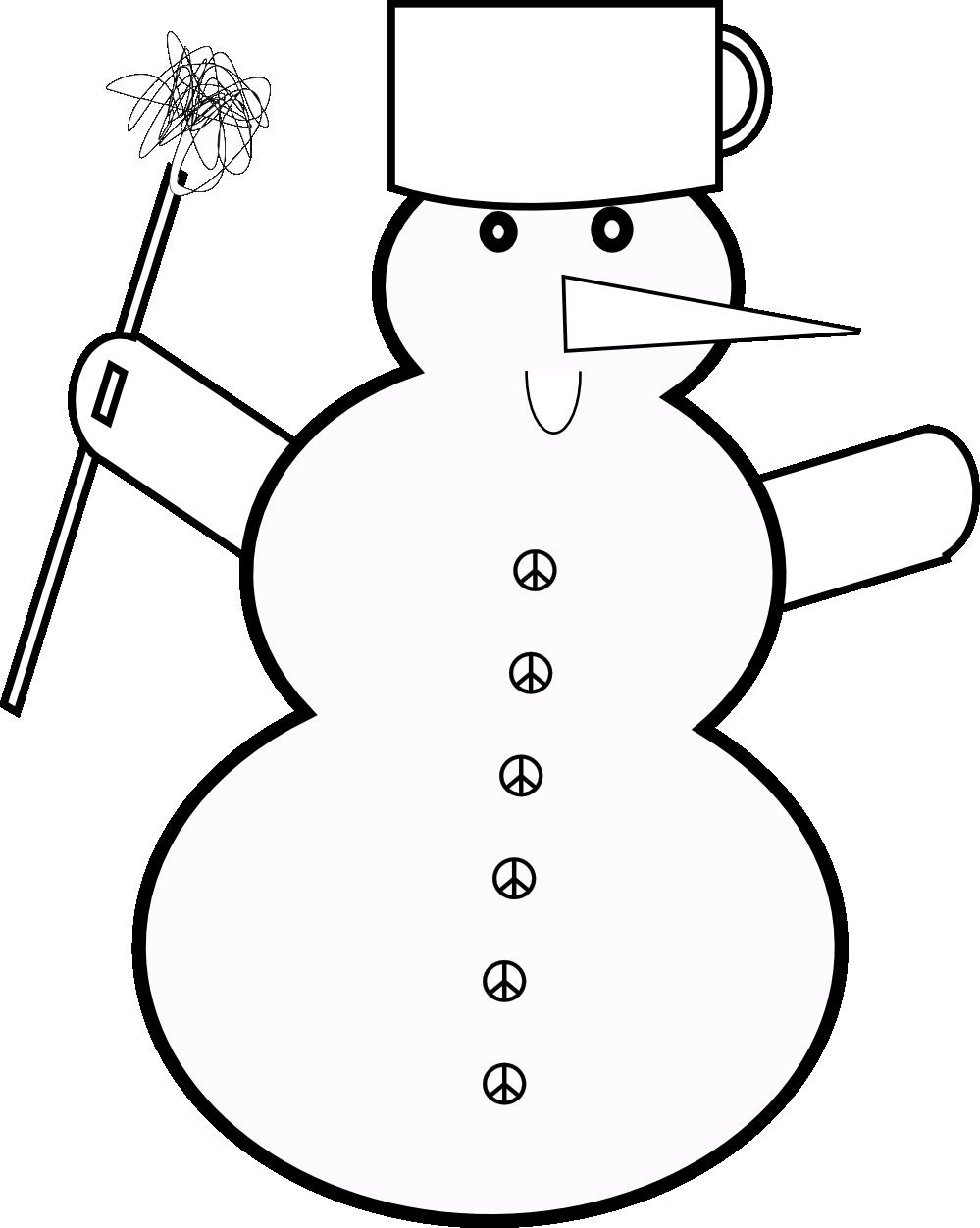 Snowman clipart elegant Snowman And Cliparts Elegant Elegant