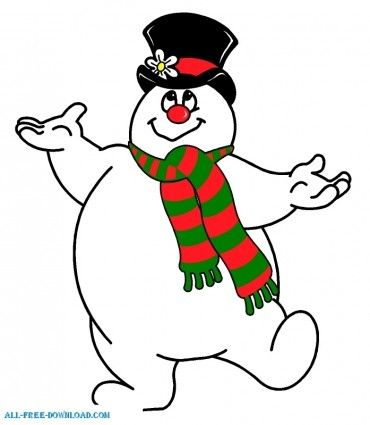 Hat clipart frosty the snowman Go Gallery Frosty clipart Snowman