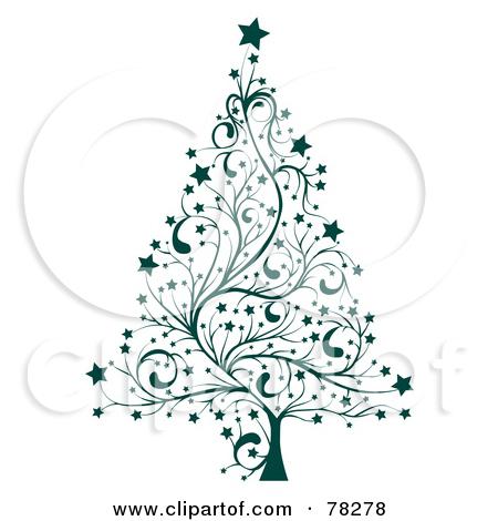 Christmas Tree clipart classy « RF Royalty Neighborhood and