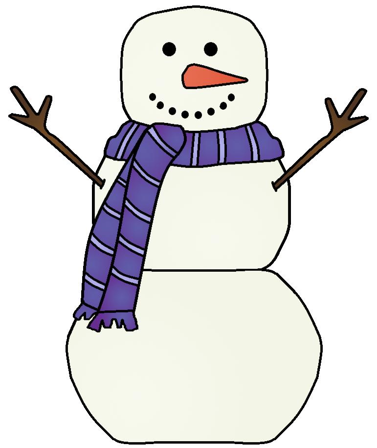 Simple clipart snowman Images images art Free snowman