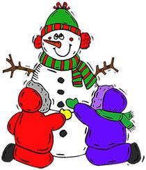 Santa clipart frosty #14