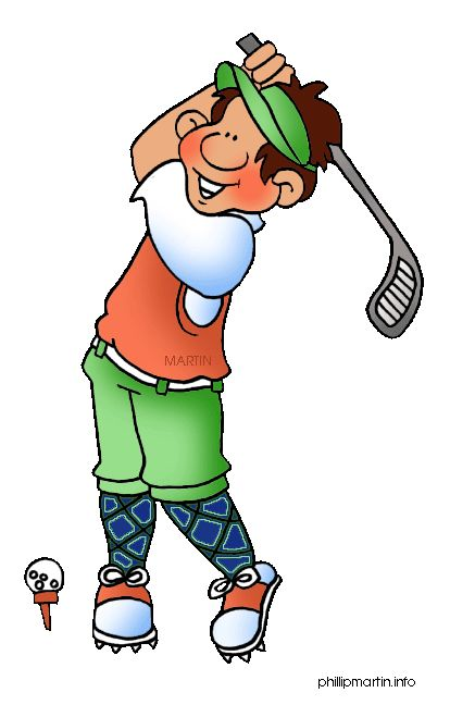 Snowman clipart golfing Shipping posing Free clip included