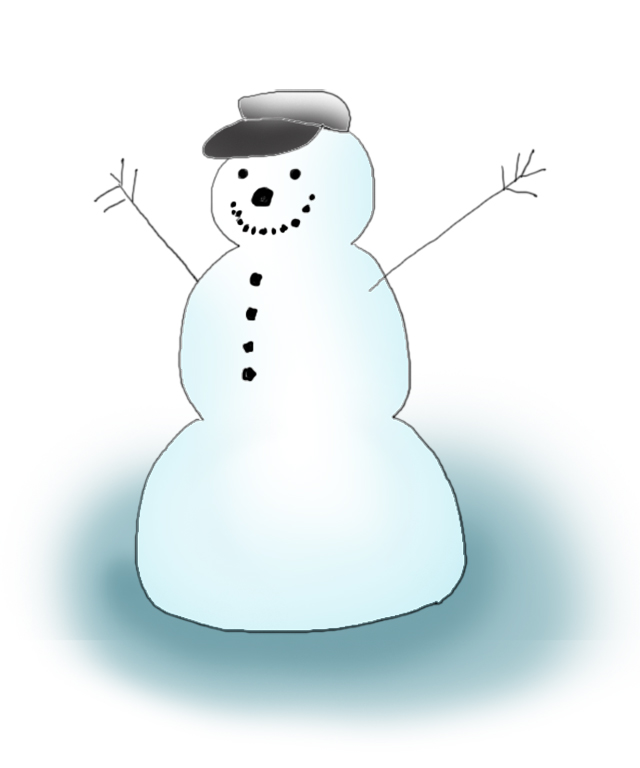 Snowman clipart happy Snowman 2 Free free Cliparting
