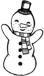 Snowman clipart happy Mothergoose snowman art 18 free