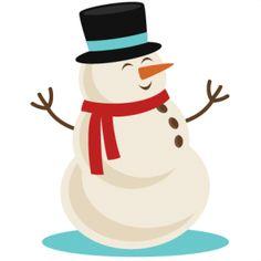 Snowman clipart happy Files Happy SVG SVG scrapbook