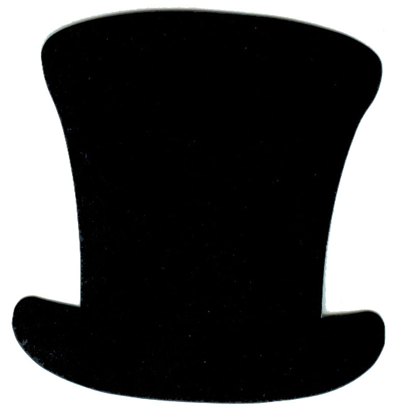 Top Hat clipart outline Image clipart #19042 images Top