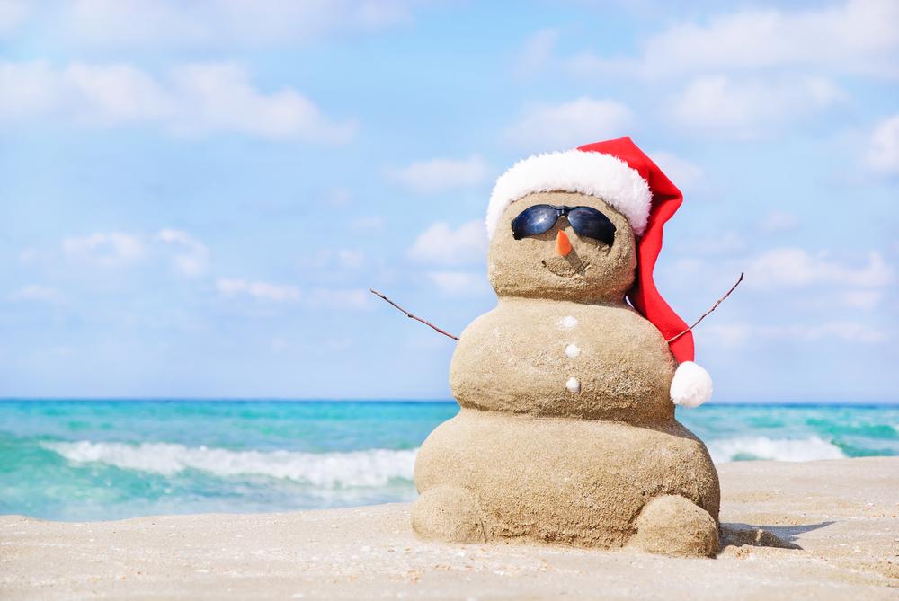 Snowman clipart hawaiian White Not  Christmas Dreaming