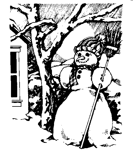 Snowman clipart holiday 36 Clip Snowman Art Page