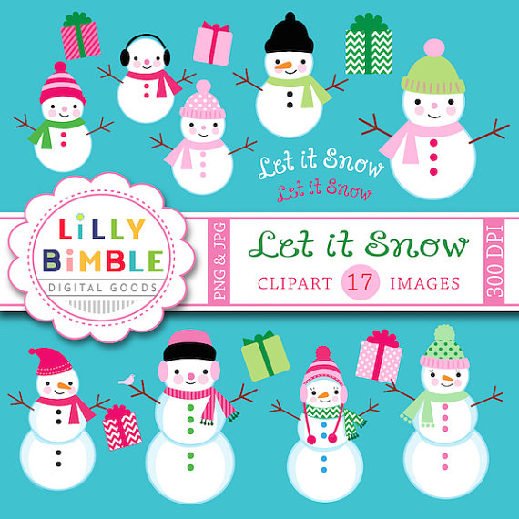 Snowman clipart holiday From Commercial off on christmas