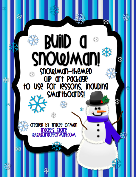 Snowman clipart holiday Holiday Classroom: Art Borders Clip