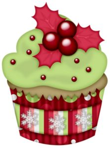 Muffin clipart christmas — на Яндекс Фотках png»