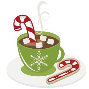 Candy Cane clipart christmas food Cutting cuts christmas Cocoa svg