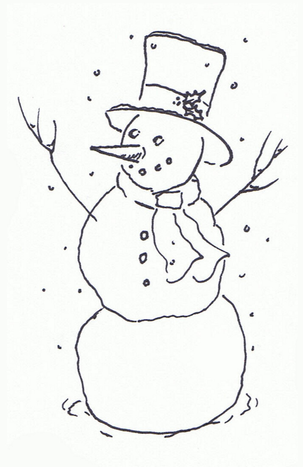 Snowman clipart january And january and white and