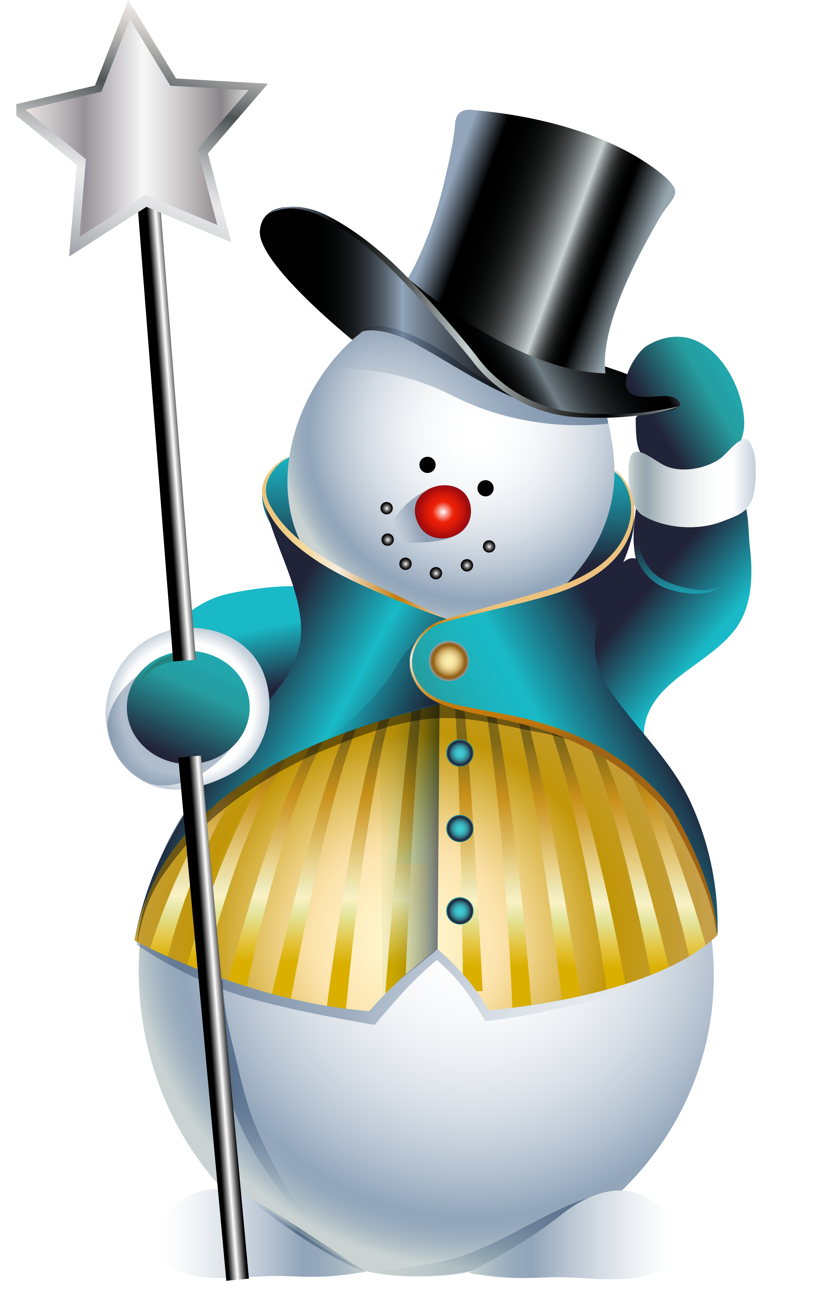 Snowman clipart new year Art Free Results Search Calendar