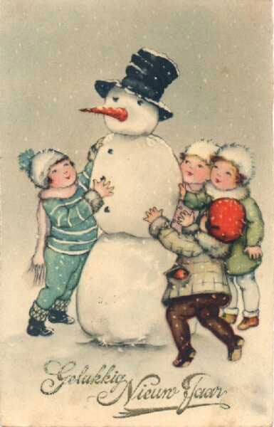 Snowman clipart old fashioned Best Vintage more and Pinterest