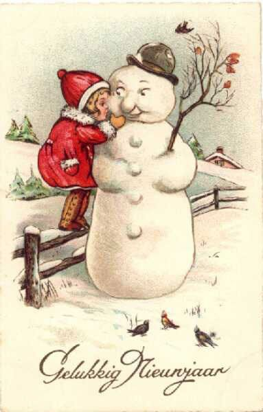 Victorian clipart christmas winter scene And best images ~ 148