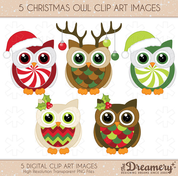 Owl clipart snowman Clipart Christmas collection Clip 5
