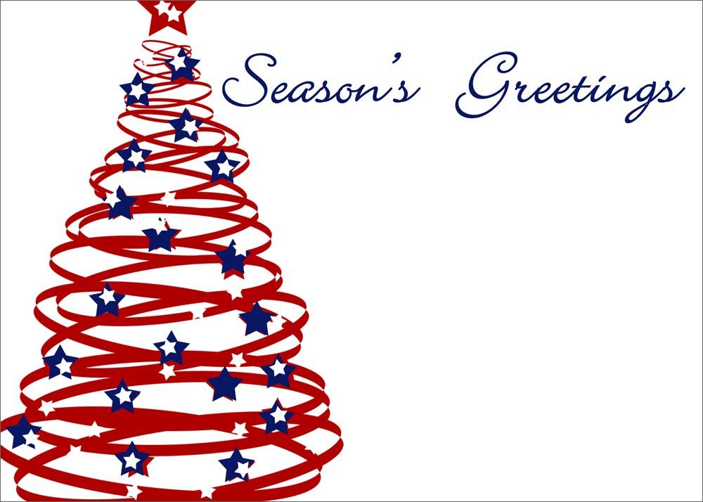 Christmas Tree clipart christmas card Tree  Christmas Patriotic