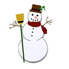 Snowman clipart pizza Art making making photo in