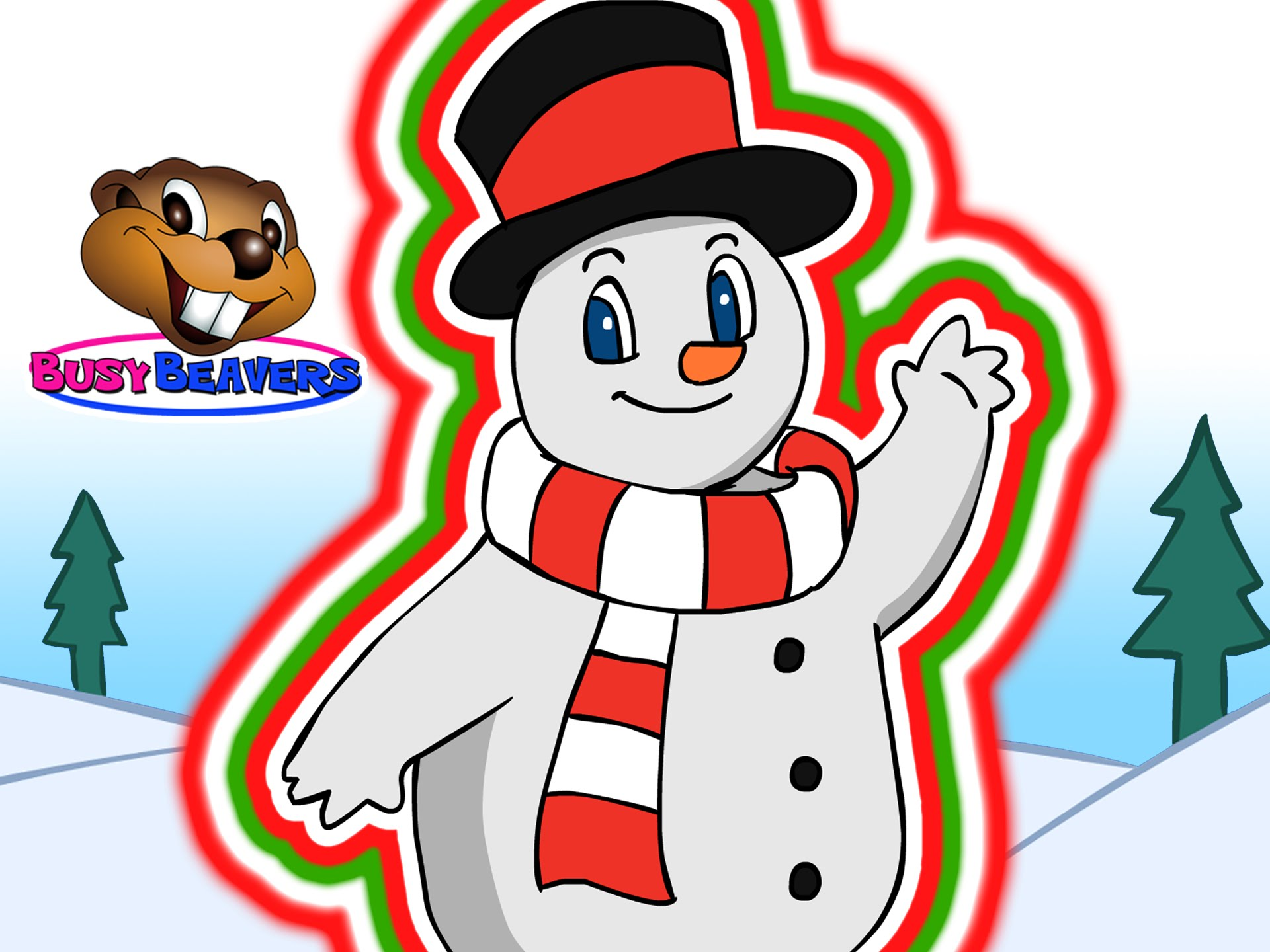 Snowman clipart preschool Beavers Preschool Song the the