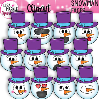 Snowman clipart preschool Clipart by Emotion and Sparkles