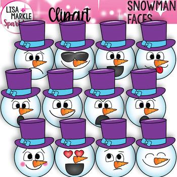 Snowman clipart preschool Markle Clipart Emotion Sparkles