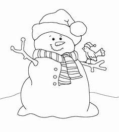Black & White clipart snowman Search snowman snowman clipart Google