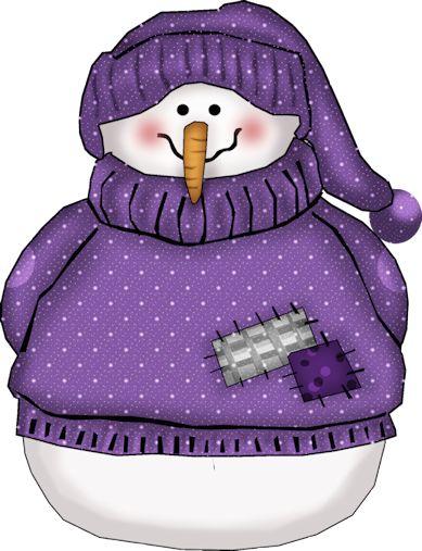 Snowman clipart purple 25+ quenalbertini: Snowman snowmen only
