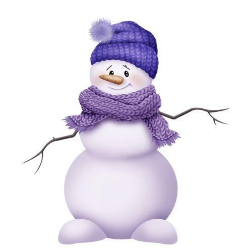 Snowman clipart purple ART * SNOWMAN SNOWMAN Pinterest