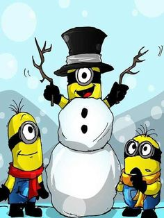 Snowman clipart rock and roll For Minions Love and are!