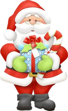 Swag clipart santa Holidays with Presents Clipart Christmas