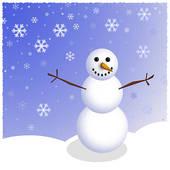 Snowman clipart scene Snowman Scene Winter Royalty