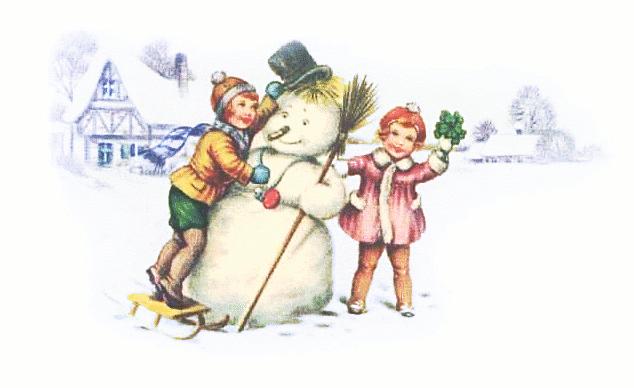 Snowman clipart scene Clipart Public Snowman  images