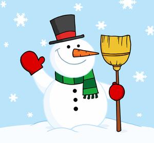 Snowman clipart scene Scene Clipart Snowman Free Free
