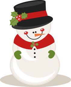 Snowman clipart shadow Free MKC_ChristmasSnowman_SVG It's art Most