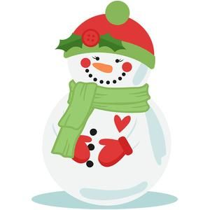 Snowman clipart shadow ClipArt la ClipartCute ¡Creo on