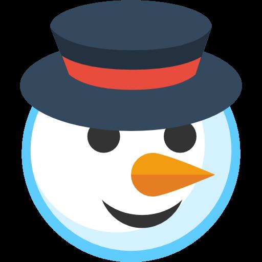 Simple clipart snowman Snowman IconBug Format: ClipArt Icon