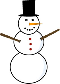 Snowman clipart simple Zimtundzucker for Kids greetings picture