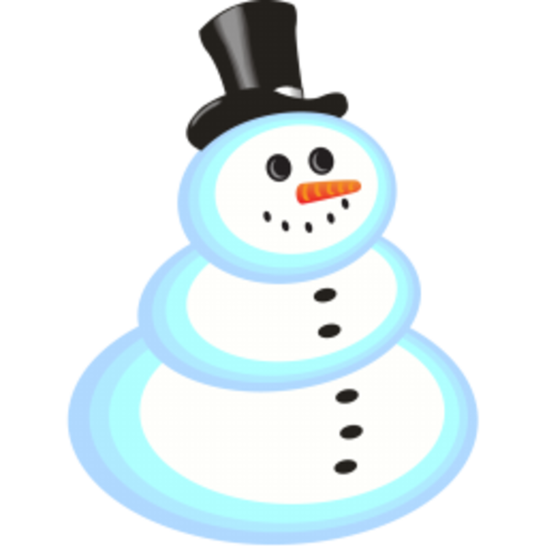 Snowman clipart small Clker at com  Free