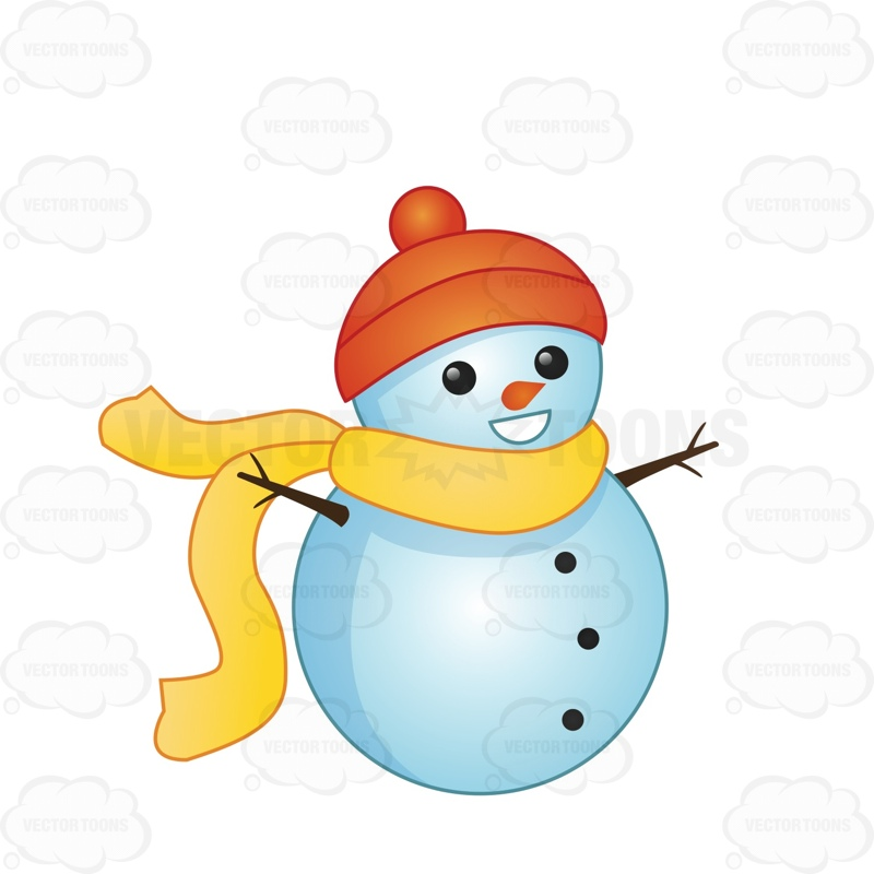 Snowman clipart small Free Cliparts Download Art Yellow