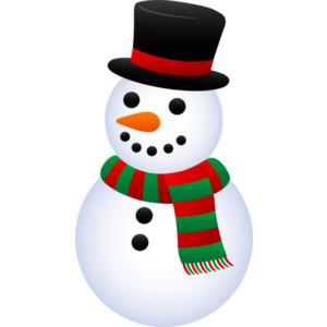 Snowman clipart small Clipartix Pictures Free Snowman Art