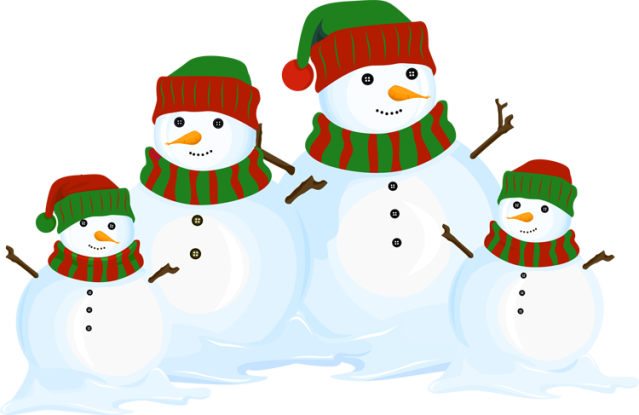 Snowman clipart snowman family Clip family snowman family clipart
