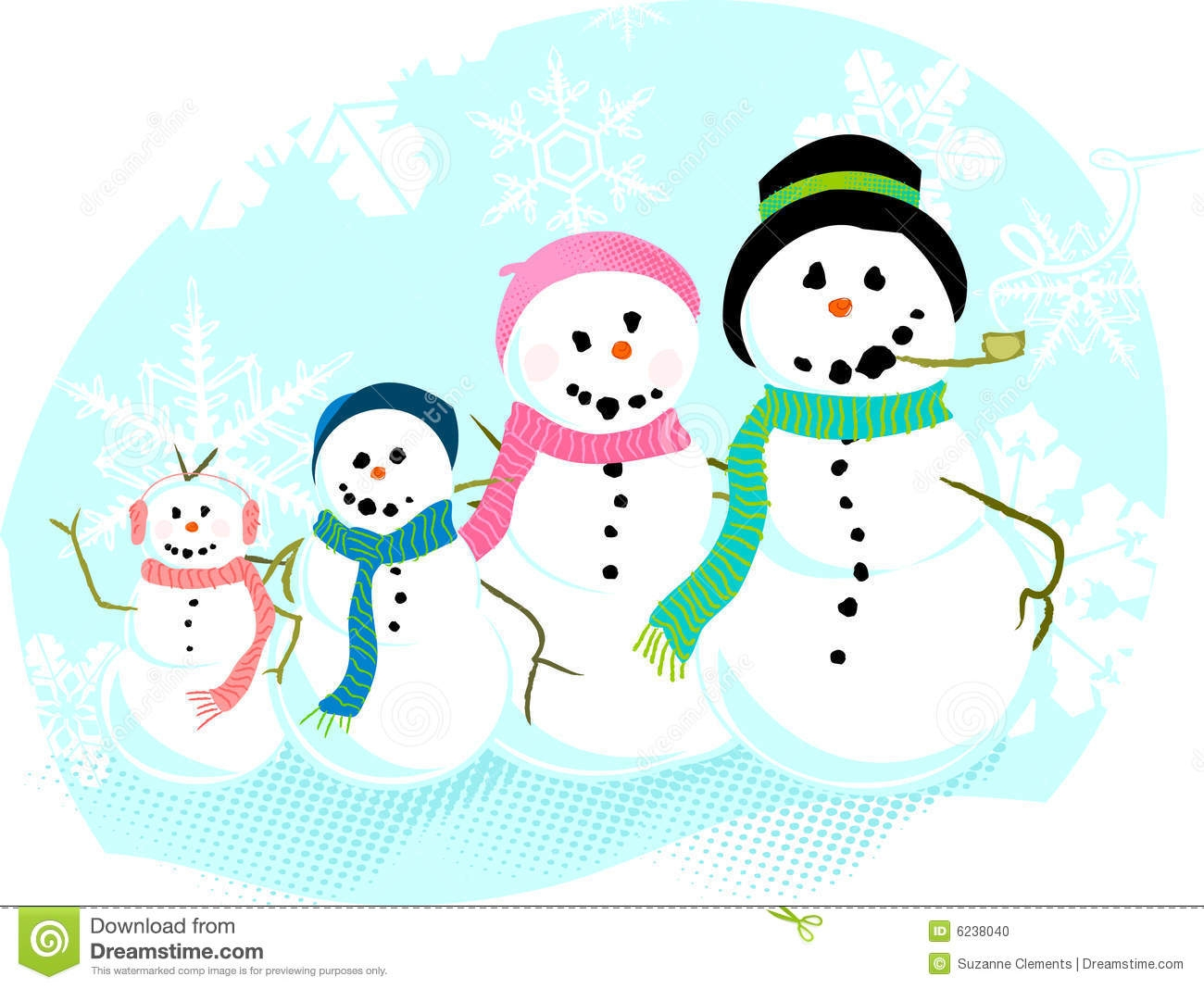 Snowman clipart snowman family Family www clipartsgram Bing images