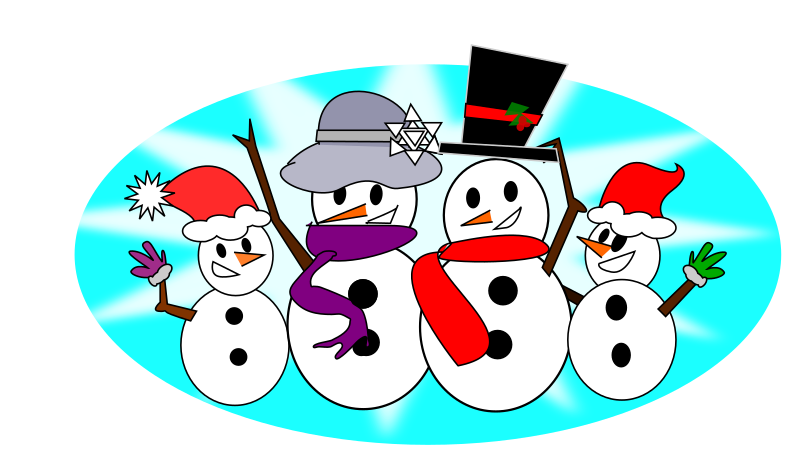 Snowman clipart snowman family MEDIUM Family Clipart IMAGE (PNG)