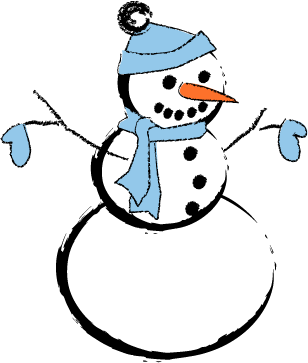 Snowman clipart theme Snow Sing Songs Songs New