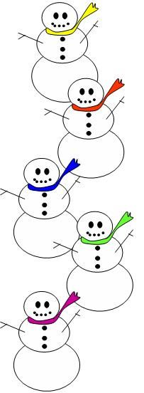 Snowman clipart theme Find images Pin Snowman on