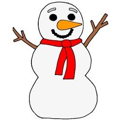 Snowman clipart theme  Theme Snowman Ideas