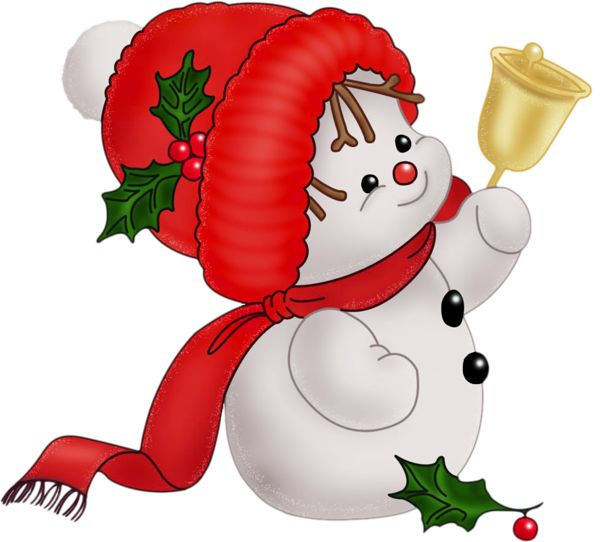 Traditional clipart snowman Images about ART SNOWMAN Christmas
